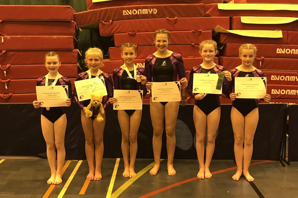 Representatives from ETKO Gymnastics Academy