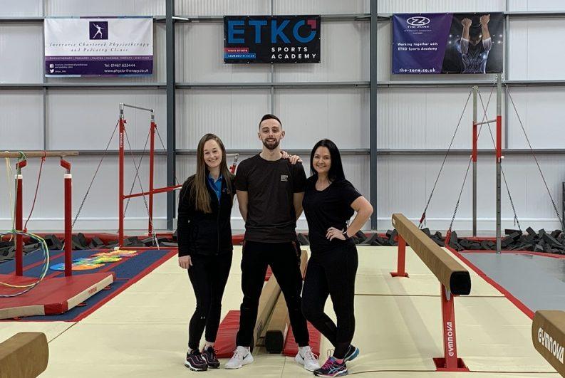 NE Gymnastics Centre partners with ETKO Sports Academy