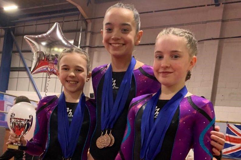 ETKO Gymnastics Academy members