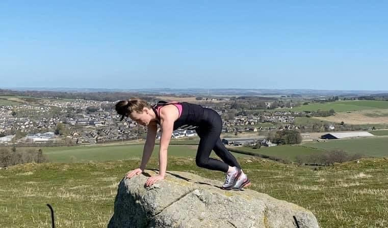 Exercising in the great ourdoors